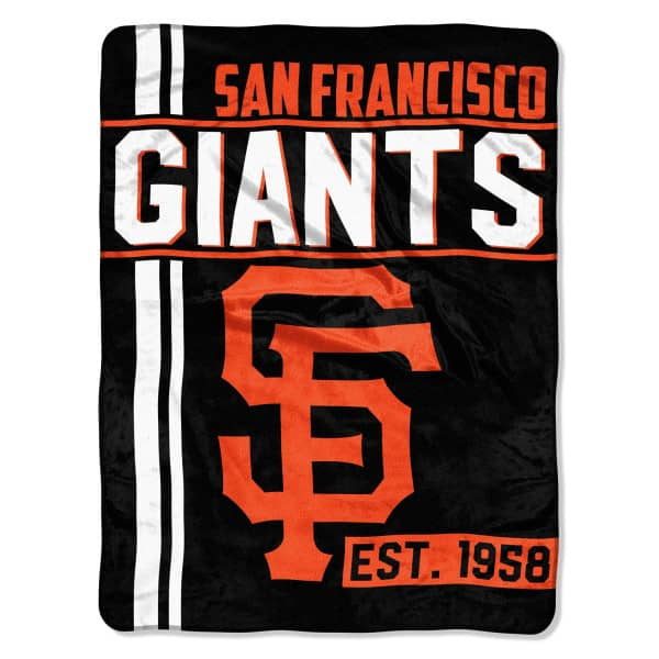 San Francisco Giants Super Plush MLB Decke