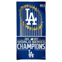 Los Angeles Dodgers 2020 World Series Champions MLB Strandtuch