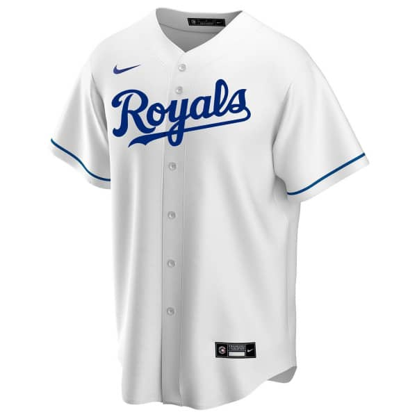 Kansas City Royals 2020 Nike MLB Replica Home Trikot Weiß