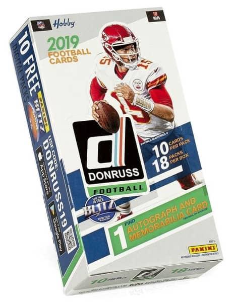 2019 Panini Donruss Football Hobby Box NFL