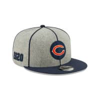 Chicago Bears 2019 NFL On-Field Sideline 9FIFTY Snapback Cap Home