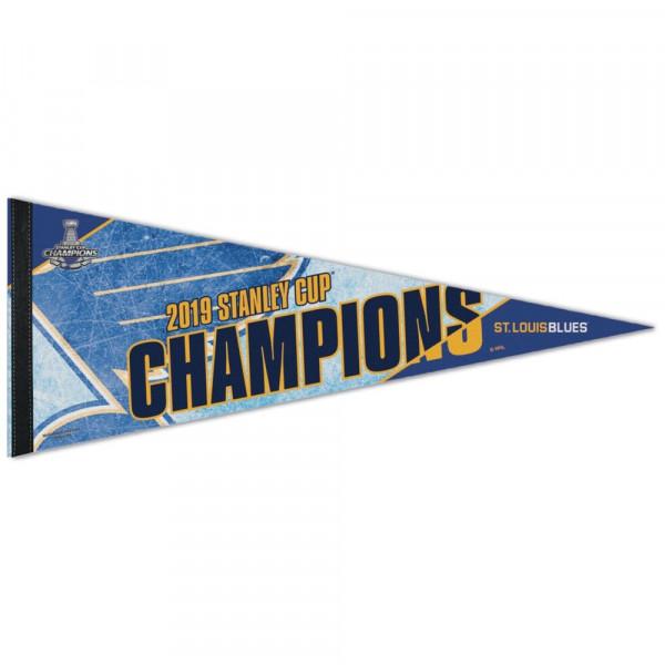 St. Louis Blues 2019 Stanley Cup Champions NHL Wimpel