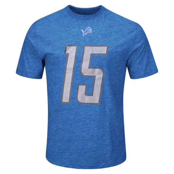 Golden Tate #15 Detroit Lions Player NFL T-Shirt