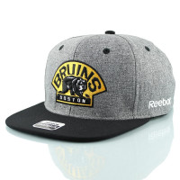 Boston Bruins Linen Snapback NHL Cap