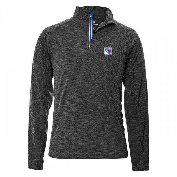 New York Rangers Mobility Quarter Zip NHL Shirt
