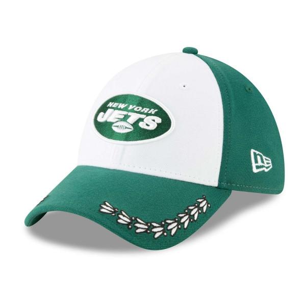 New York Jets 2019 NFL Draft On-Stage 9FORTY Adjustable Cap