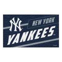 New York Yankees Punch Print MLB Kokos Fußmatte