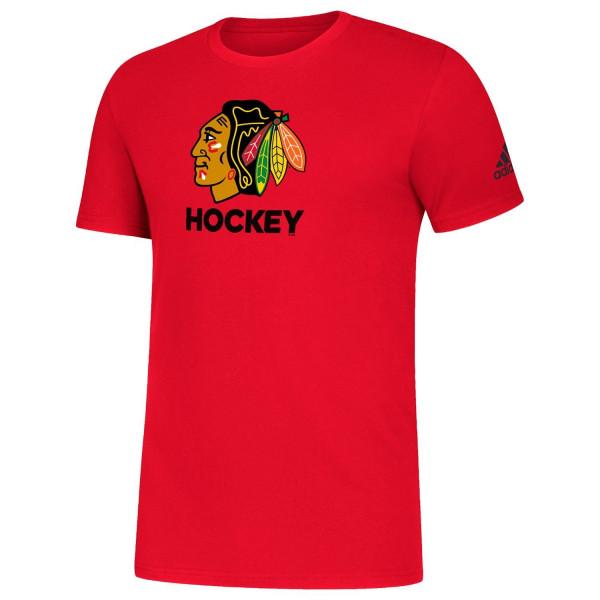 Chicago Blackhawks 2020/21 NHL Hockey Amplifier T-Shirt