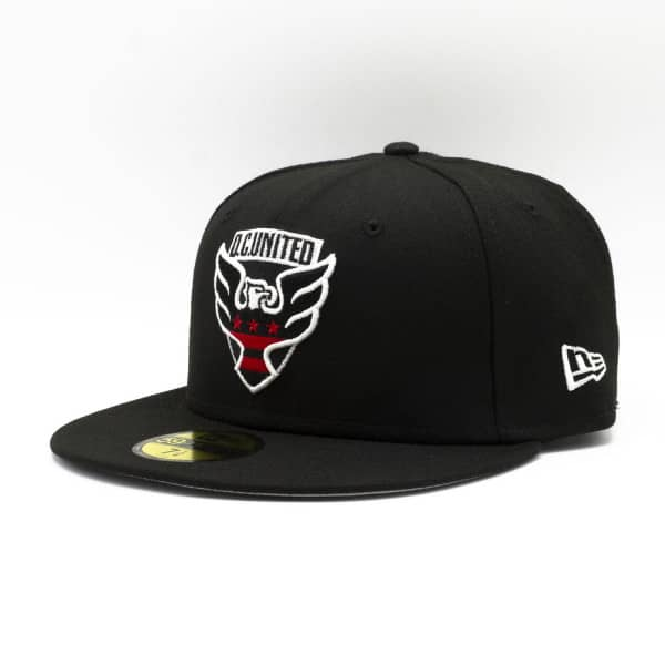 D.C. United Team Logo New Era 59FIFTY Fitted MLS Cap