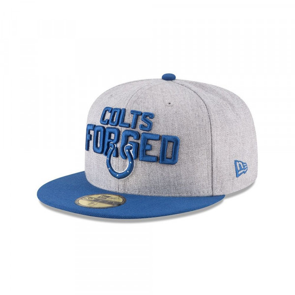 brand new 964ea f50d1 New Era Indianapolis Colts 2018 NFL Draft 59FIFTY Fitted Cap   TAASS.com  Fan Shop