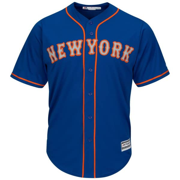 New York Mets Cool Base MLB Trikot Alternate Road Blau