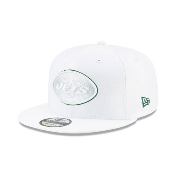New York Jets 2019 NFL On-Field Sideline Platinum 9FIFTY Snapback Cap