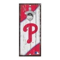 Philadelphia Phillies MLB Schild mit Flaschenöffner