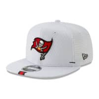Tampa Bay Buccaneers 2019 NFL Training 9FIFTY Snapback Cap Weiß