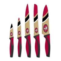 San Francisco 49ers NFL 5-teiliges Küchenmesser Set