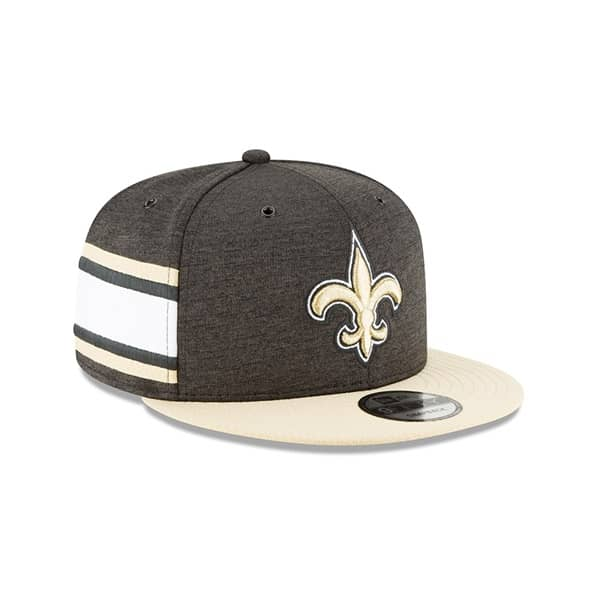 buy popular 830c5 75508 New Era New Orleans Saints 2018 NFL Sideline 9FIFTY Snapback Cap Home    TAASS.com Fan Shop