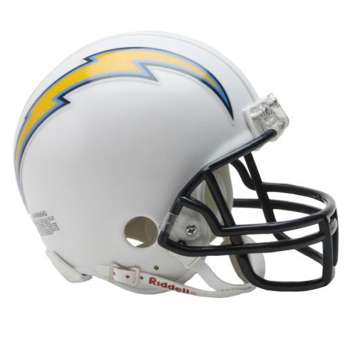 Riddell Los Angeles Chargers Football NFL Mini Helmet