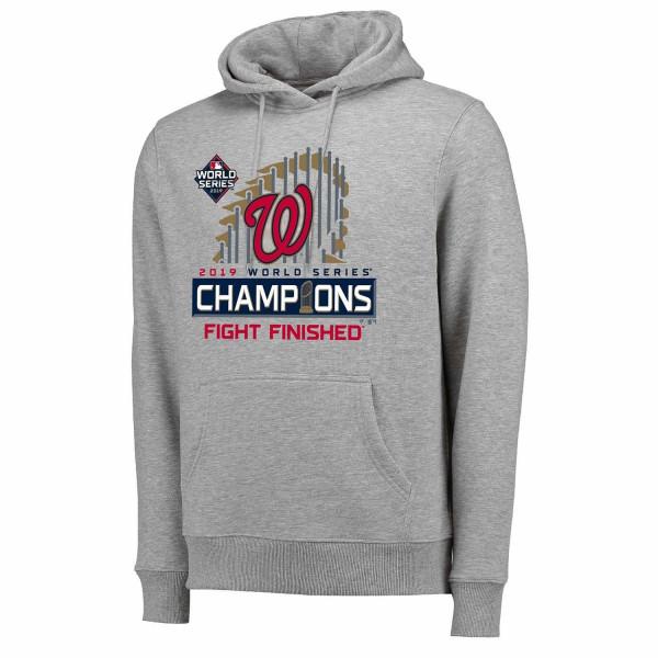 Washington Nationals 2019 World Series Champions Locker Room MLB Hoodie