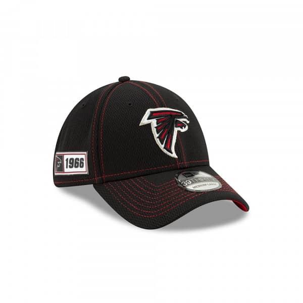 Atlanta Falcons 2019 NFL On-Field Sideline 39THIRTY Stretch Cap Road