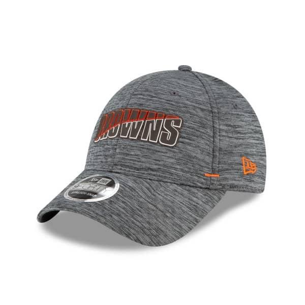 Cleveland Browns 2020 Summer Sideline New Era Stretch-Snap 9FORTY NFL Cap Grau