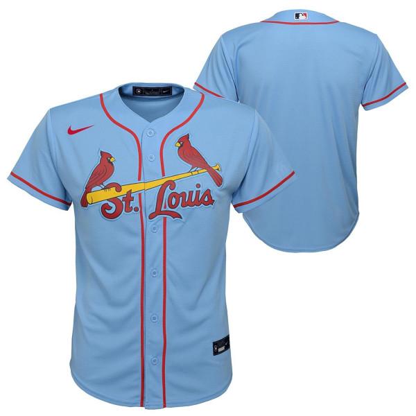 St. Louis Cardinals Youth MLB Replica Alternate Trikot Hellblau (KINDER)