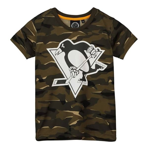 Pittsburgh Penguins Camouflage NHL T-Shirt