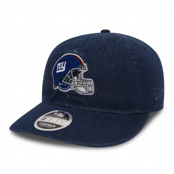New York Giants Helmet Low Profile 9FIFTY Strapback NFL Cap