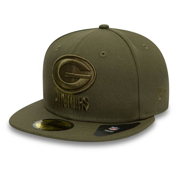 Green Bay Packers Poly Tone 59FIFTY Fitted NFL Cap