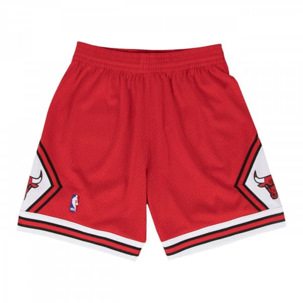 Chicago Bulls 1997-1998 Swingman NBA Shorts Rot