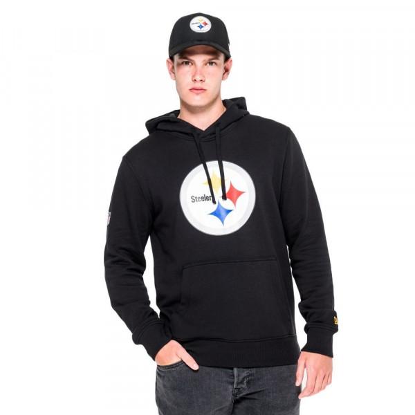 Pittsburgh Steelers Logo Hoodie NFL Sweatshirt Schwarz