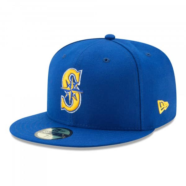 Seattle Mariners Authentic New Era 59FIFTY Fitted MLB Cap Alternate 2