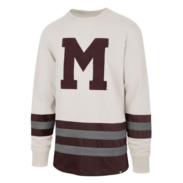 Montreal Maroons Center Ice Crewneck NHL Sweatshirt