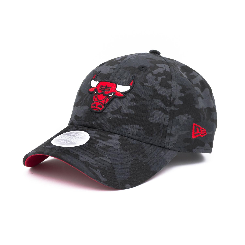 newest 010e0 3c1fb New Era Chicago Bulls Black Camouflage Adjustable NBA Cap (WOMEN S)    TAASS.com Fan Shop