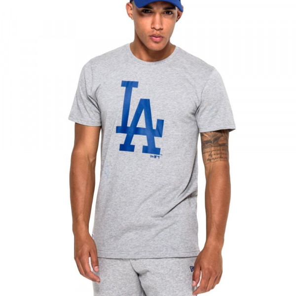 Los Angeles Dodgers Team Logo Baseball MLB T-Shirt Grau