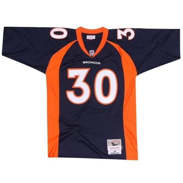 quality design c9b84 ec67d Terrell Davis #30 Denver Broncos Legacy Throwback NFL Jersey Navy