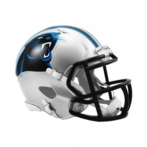 Carolina Panthers American Football NFL Speed Mini Helm