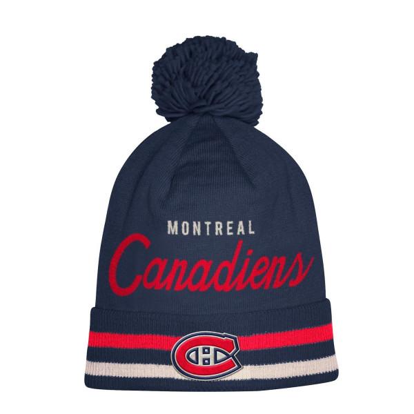 1c57106e adidas Montreal Canadiens Cuffed Beanie Pom NHL Knit Hat | TAASS.com Fan  Shop