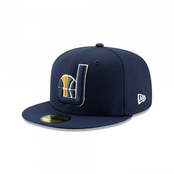 Utah Jazz 2019 NBA Back Half 59FIFTY Fitted Cap