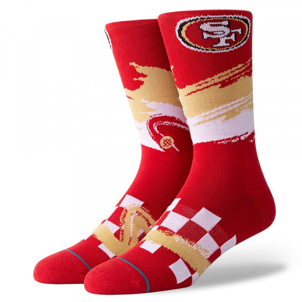 San Francisco 49ers Wave Racer NFL Socken