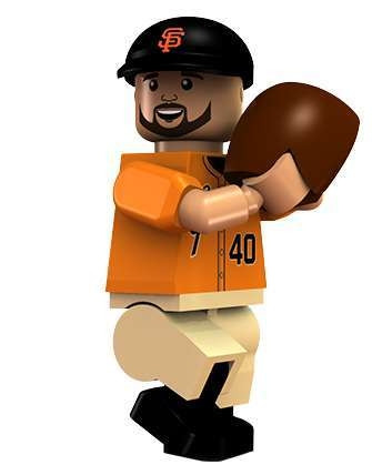 MLB Madison Bumgarner San Francisco Giants Minifigur Alternate