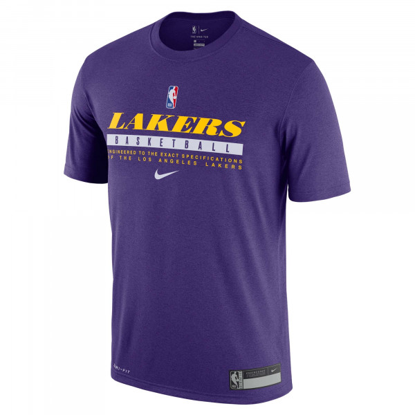 Los Angeles Lakers 2020/21 NBA Practice Nike Performance T-Shirt