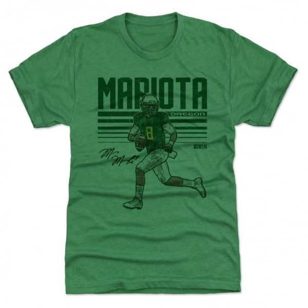 Marcus Mariota Oregon Ducks Hyper NCAA T-Shirt