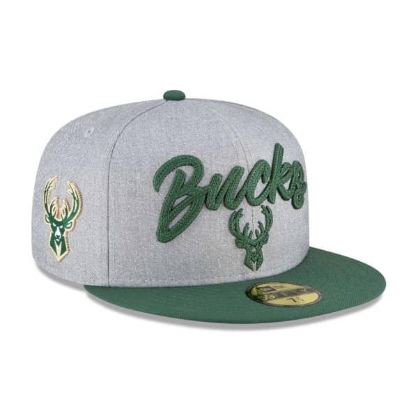 Milwaukee Bucks Authentic 2020 NBA Draft New Era 59FIFTY Fitted Cap