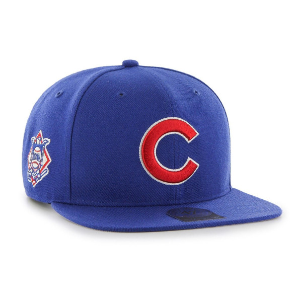 Chicago Cubs Sure Shot '47 Captain Snapback MLB Cap Blau