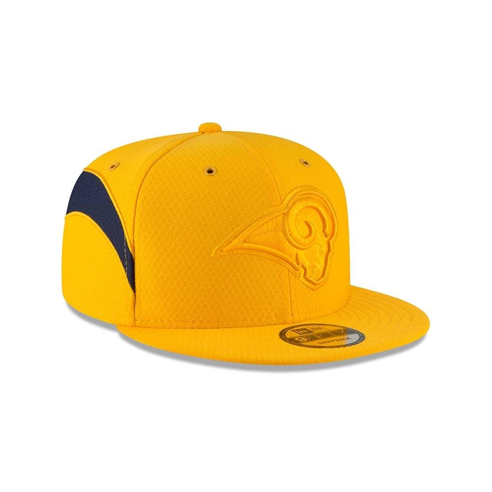 New Era Los Angeles Rams 2018 Color Rush 9FIFTY NFL Snapback Cap ... 3048b4493327