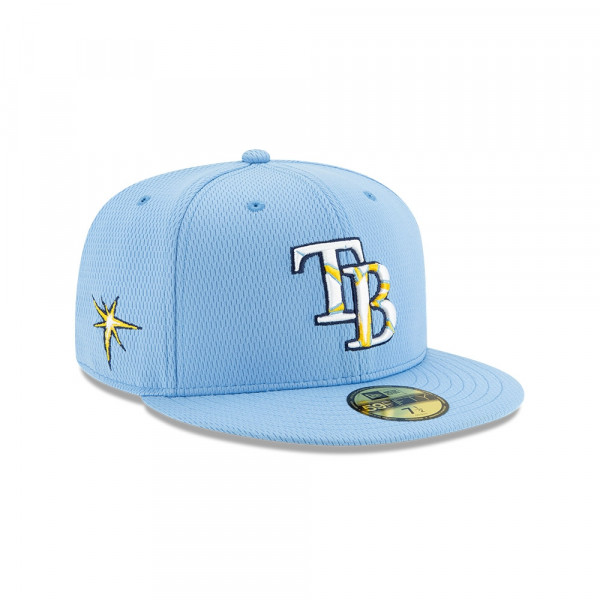 Tampa Bay Rays 2020 Authentic Spring Training 59FIFTY Fitted MLB Cap