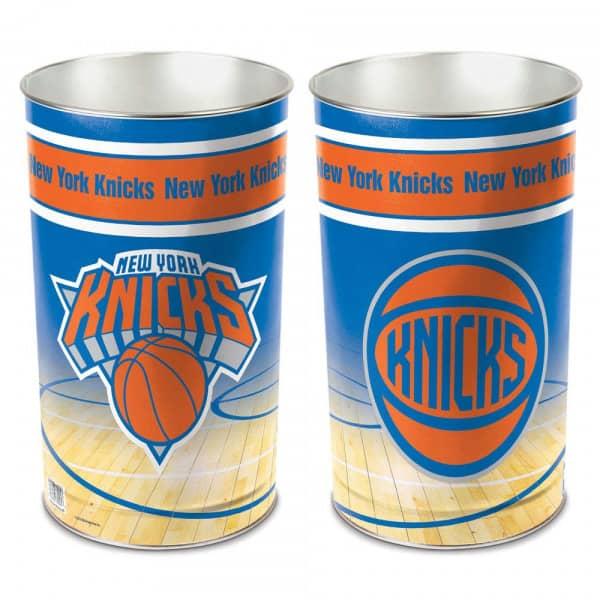 New York Knicks NBA Metall Papierkorb