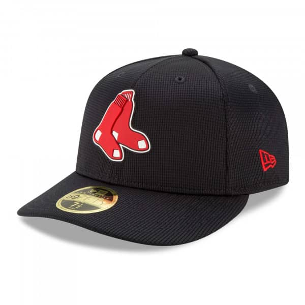 Boston Red Sox 2021 MLB Authentic Clubhouse New Era Low Profile 59FIFTY Cap