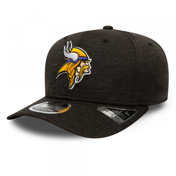 Minnesota Vikings Total Shadow Tech New Era 9FIFTY Stretch-Snap NFL Cap