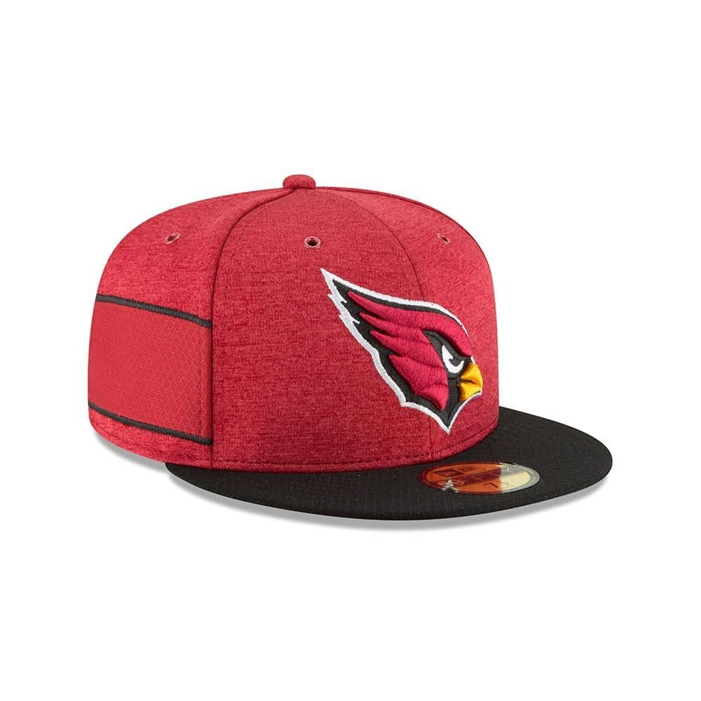 more photos 38e64 448ee New Era Arizona Cardinals 2018 NFL Sideline 59FIFTY Fitted Cap Home   TAASS.com  Fan Shop